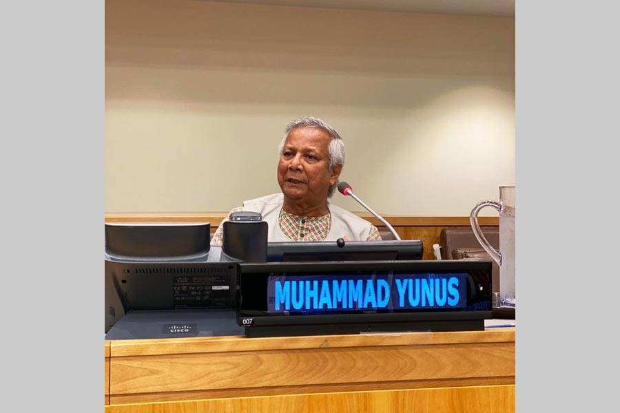 """""""Financial sector leaders must work not just to address modern slavery and human trafficking at the margins, but also by rethinking their business models to address the root causes and drivers – including financial exclusion"""", Co convener of the event, Professor Yunus"""