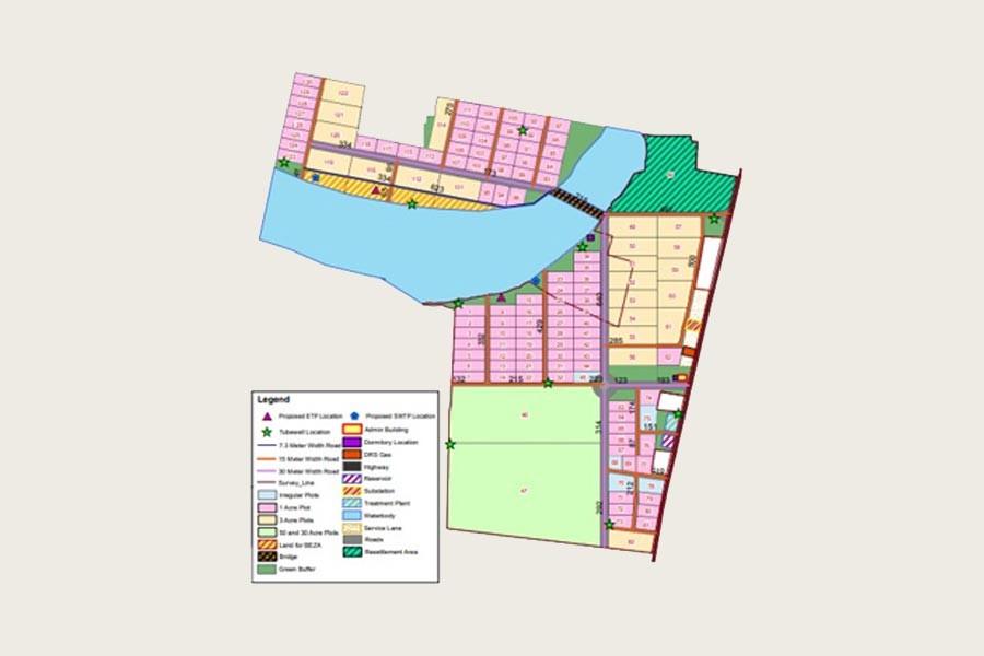 Jamalpur Economic Zone ready for factory building
