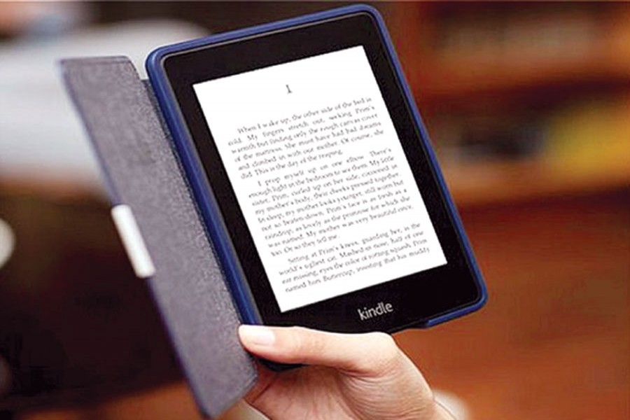 Bracing for a challenge from e-books