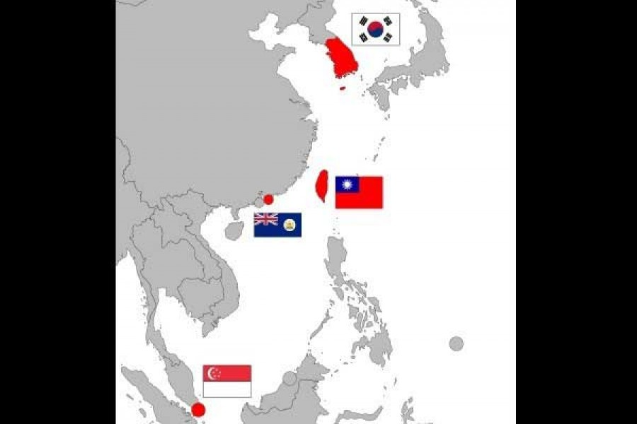 A case of the four overlapping Asias