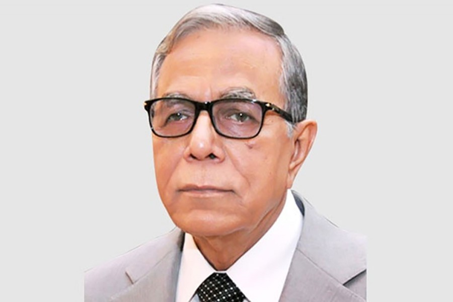 President Abdul Hamid seen in this BSS file photo