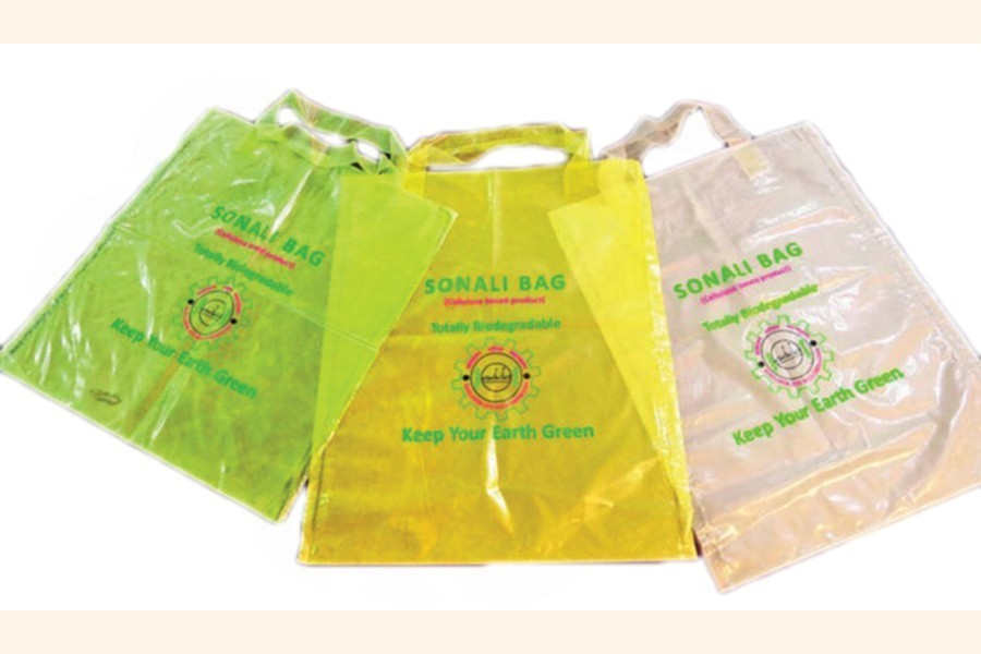 Commercial production of Sonali bags