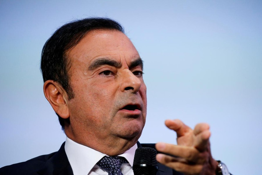 Former Nissan Motor Co Ltd chairman Carlos Ghosn- Reuters file photo