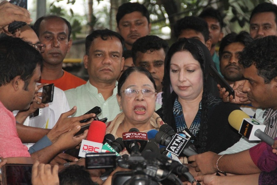 Family wants to send 'ailing' Khaleda abroad, says Selima