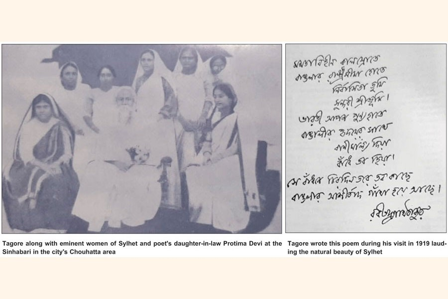 Sylhet to mark 100 years of Tagore's visit