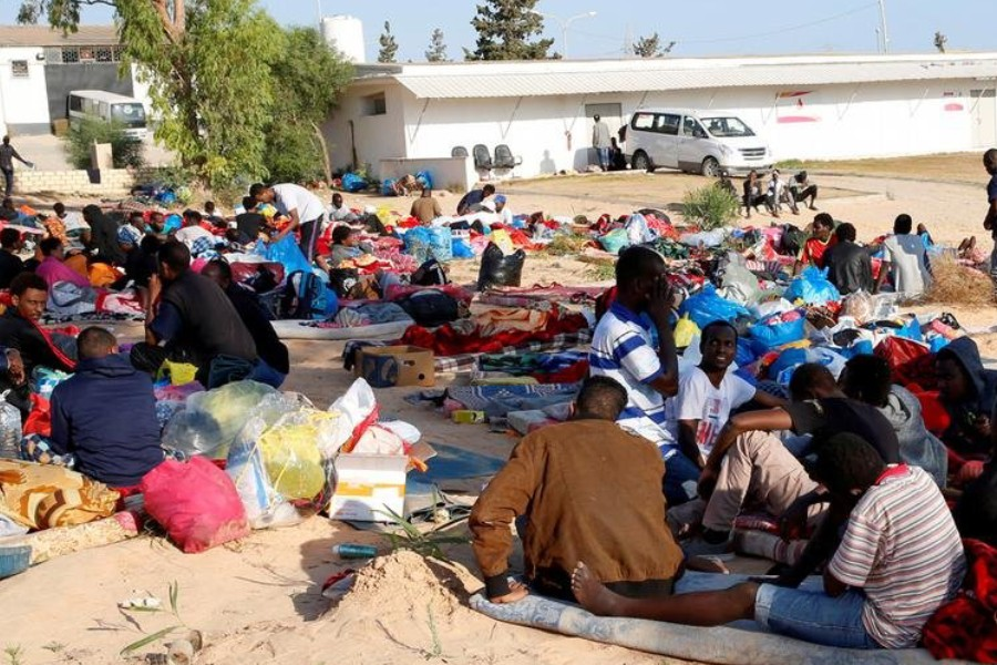 ajoura detention centre in Tripoli, Libya | Photo: Reuters/I.Zitouny