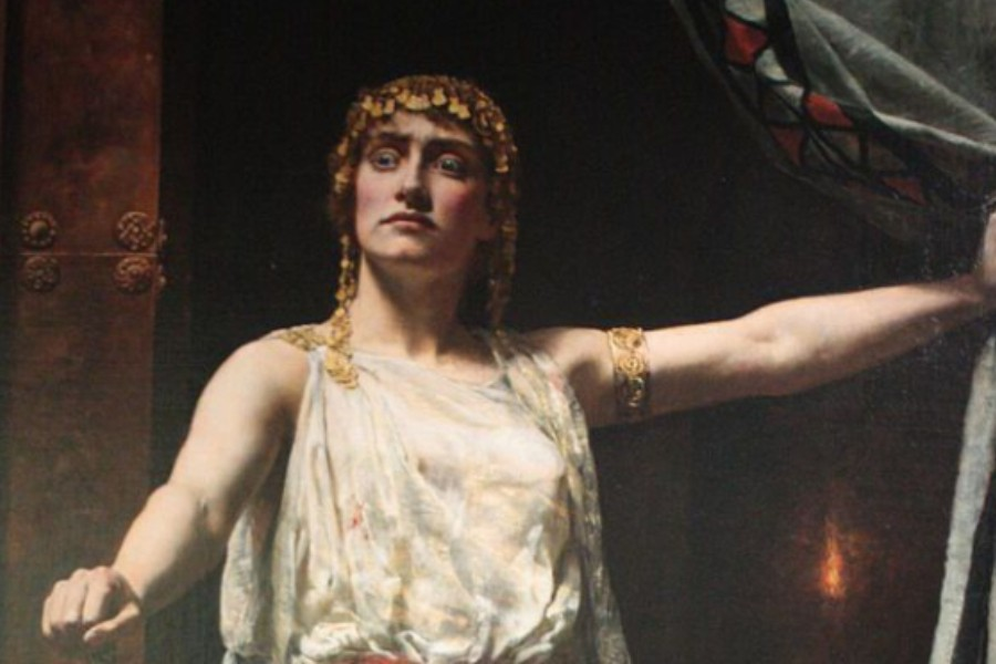 Clytemnestra, in Greek mythology, was the wife of Agamemnon, king of Mycenae, and the sister of Helen of Troy.