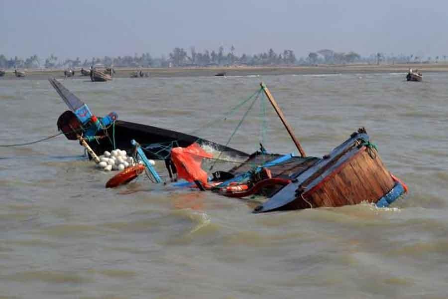 Five fishermen missing as trawler capsizes in Meghna
