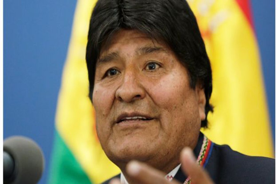 Morales to call new election after OAS report