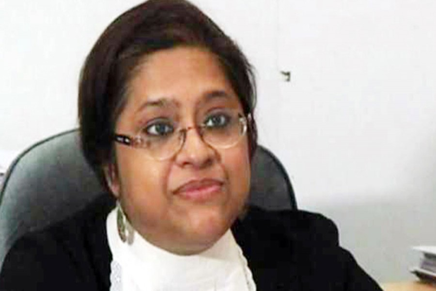 Barrister Tureen Afroz removed from ICT prosecution team
