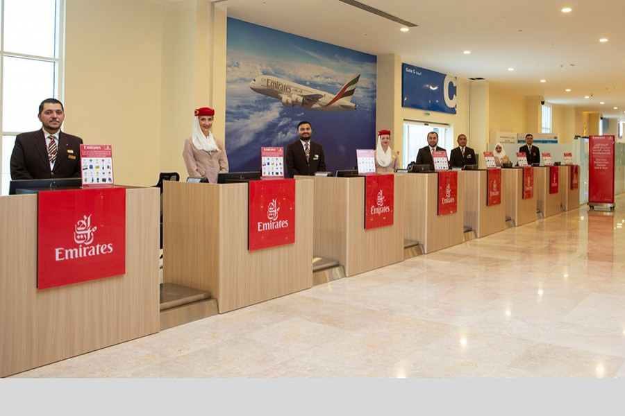 Emirates' first remote check-in terminal opens in Dubai