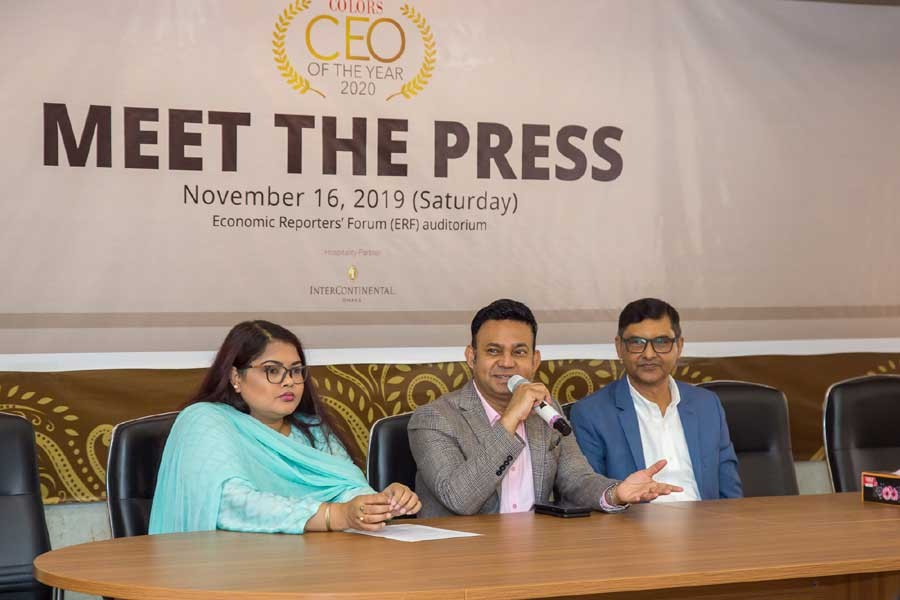 COLORS to award CEOs in four major sectors