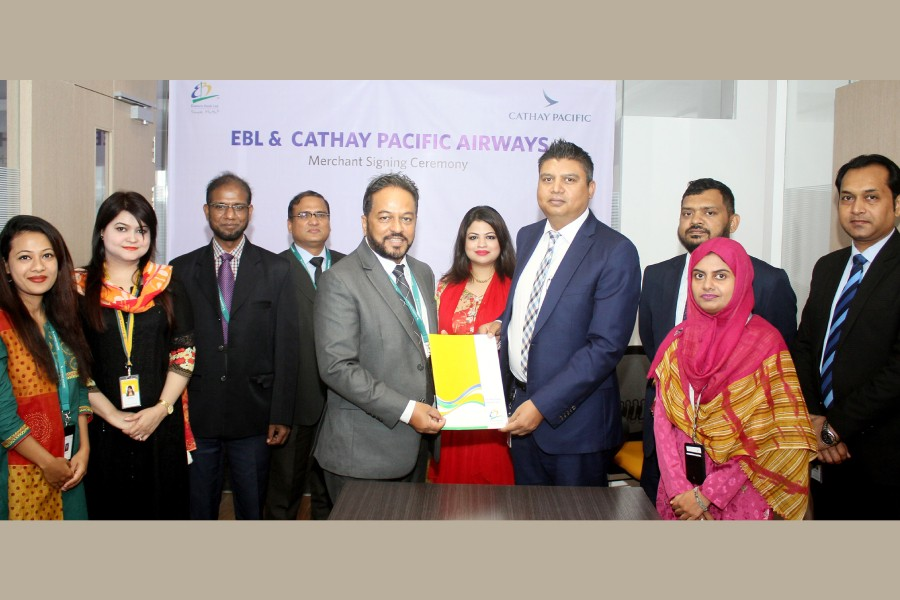 EBL signs agreement with Cathay Pacific Airways