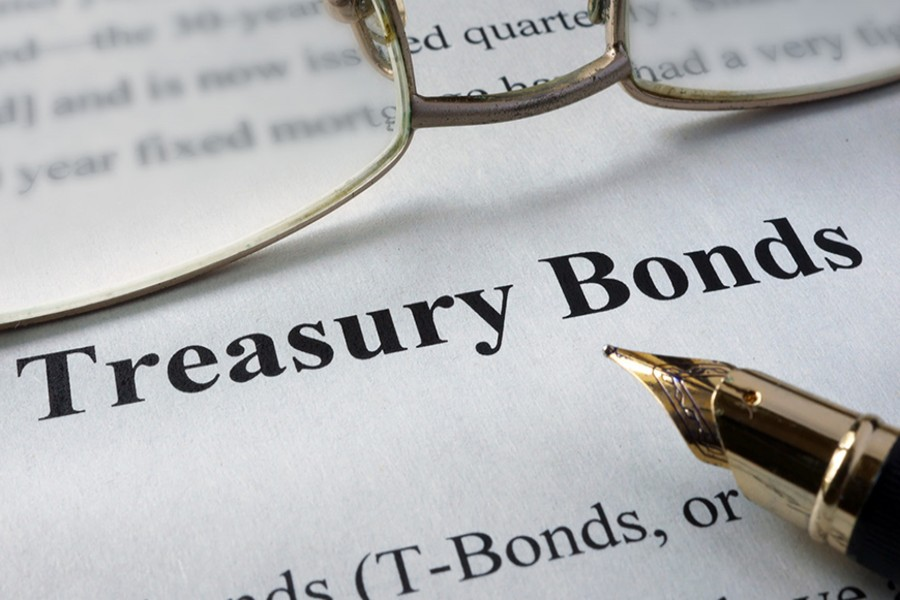 Rise in issuance of T-bonds, bills pushes up yield curves