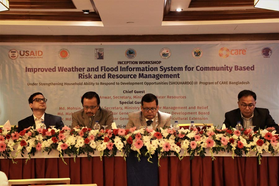 'Early warning and forecast system will help save livelihoods'