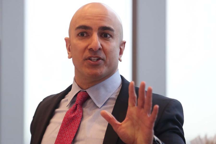 File photo of President of the Federal Reserve Bank on Minneapolis Neel Kashkari. (Collected)