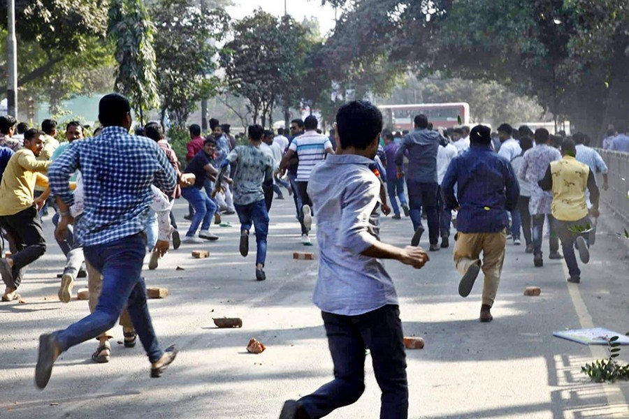 500 BNP men sued over attack on police