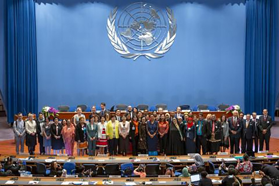 UN confce opens with call to make gender equality a reality