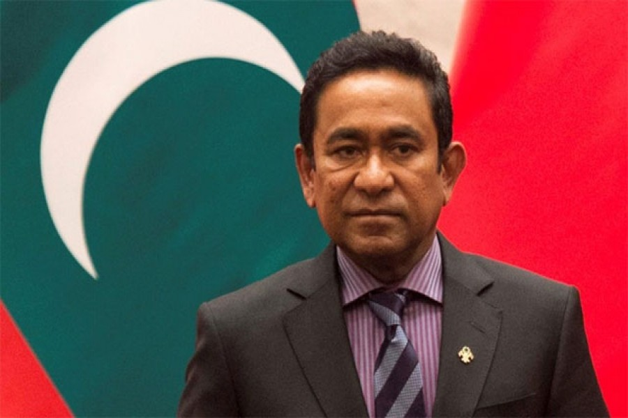 Ex-president of Maldives sentenced to five years in jail