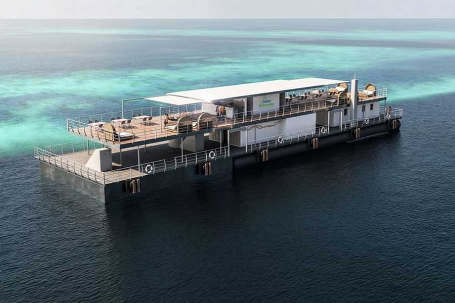 Australia's first underwater hotel to open on Great Barrier Reef