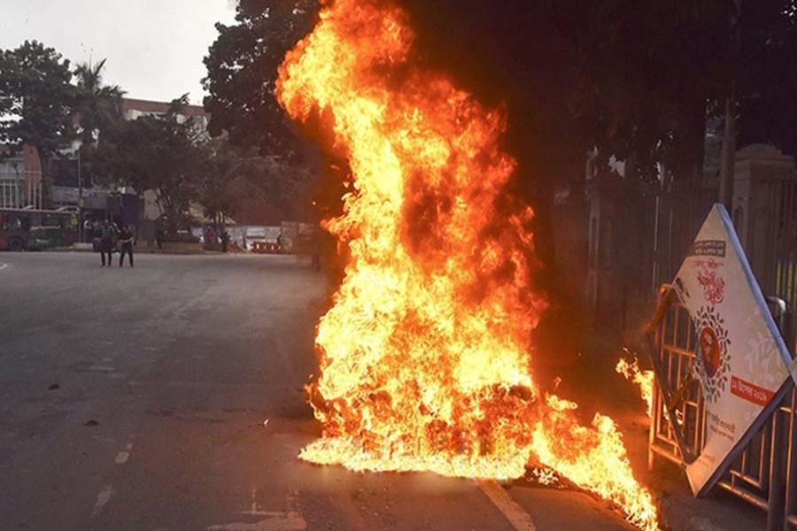 Motorcycle fires: Police file case against Fakhrul, Rizvi