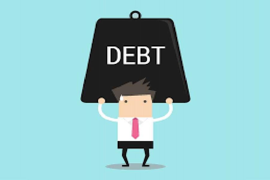 Global debt overhang