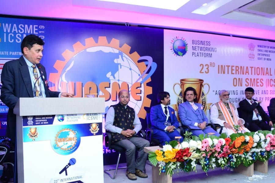 Int'l SME conference held in India