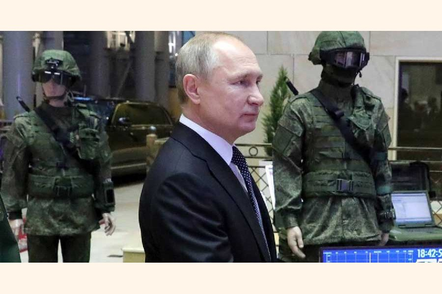 Russia leading world in hypersonic arms: Putin