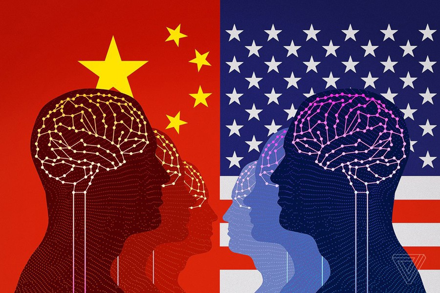 China and the West race to the top: Innovation is the engine of growth