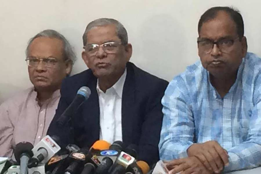 We demand Khaleda's release to save her life: Fakhrul