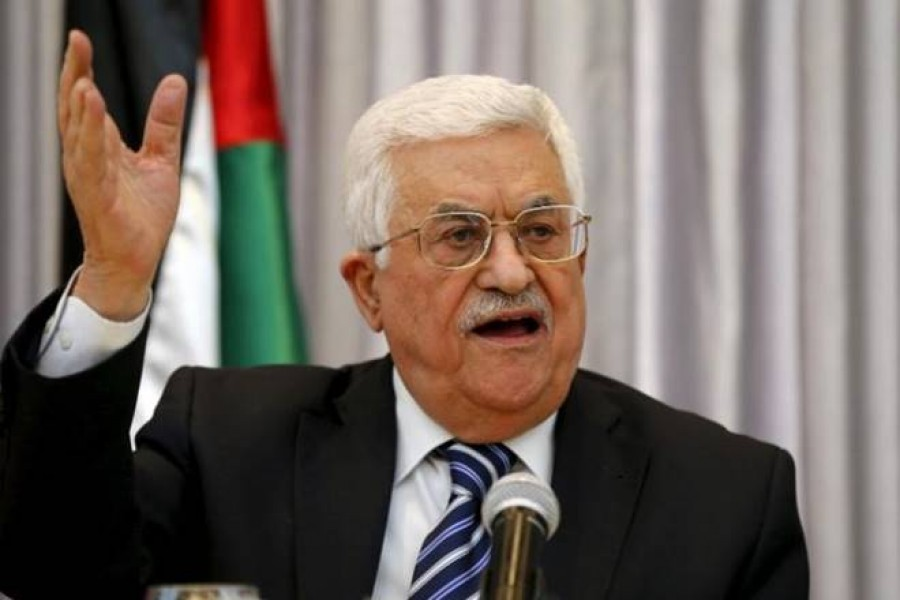 Palestinian President Abbas: US offers Palestinians  'Swiss cheese' state
