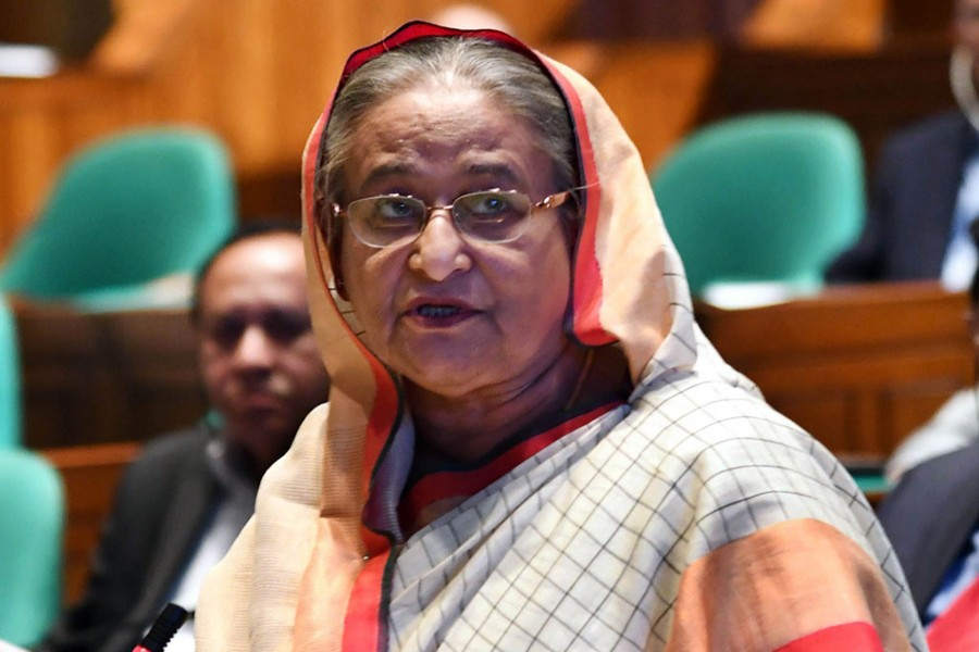 Our economy is stronger than Singapore's: PM Hasina
