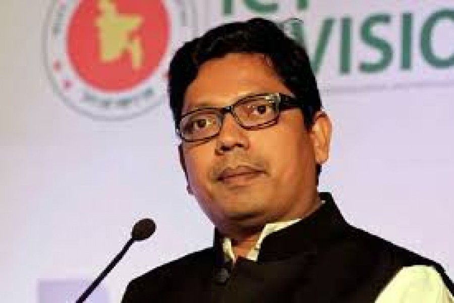 -- State Minister for ICT Zunaid Ahmed Palak (file photo)