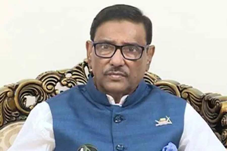 BNP maintains 'safe distance' during disaster: Obaidul Quader