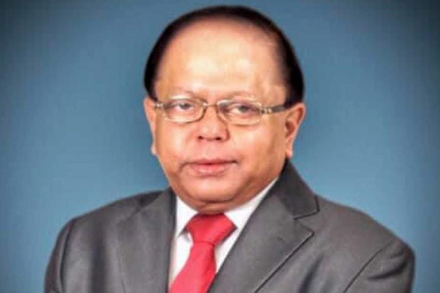 File photo of Md Imamul Kabir Shanto, the chairman of Shanto-Mariam University.