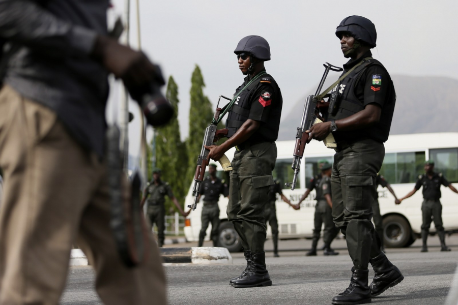 Nigeria's security forces seen in this Reuters file photo