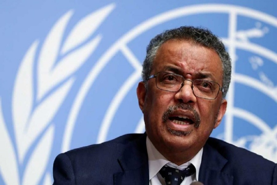 Director-General of the World Health Organisation (WHO) Tedros Adhanom Ghebreyesus speaks during a news conference on the situation of the coronavirus at the United Nations, in Geneva, Switzerland, January 29, 2020 — Reuters/Files