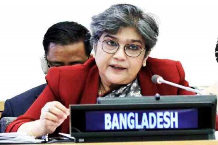 Dhaka lauds UN role to address Covid-19 challenges