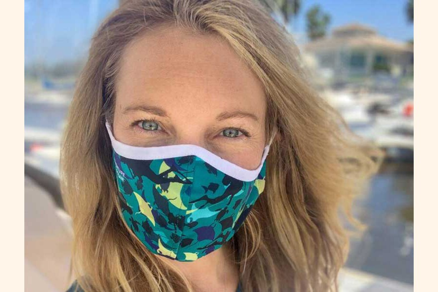 How scuba divers are turning ocean waste into Covid face masks
