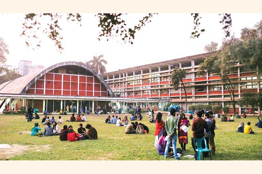 TSC is the cultural hub of Dhaka University