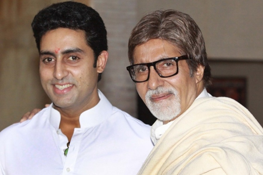 Bollywood star Amitabh Bachchan and his son test positive for Covid-19