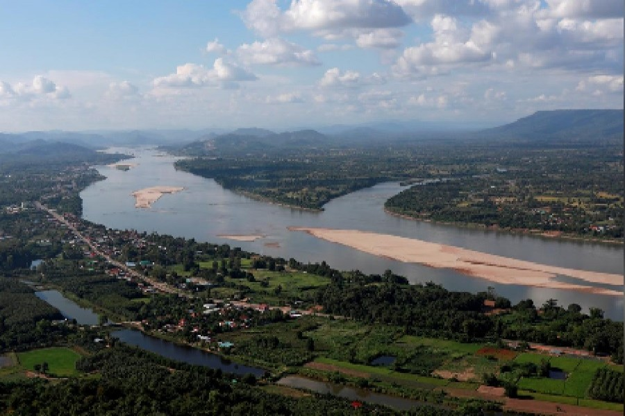 A view of the Mekong river bordering Thailand and Laos is seen from the Thai side in Nong Khai, Thailand, October 29, 2019 — Reuters/Files