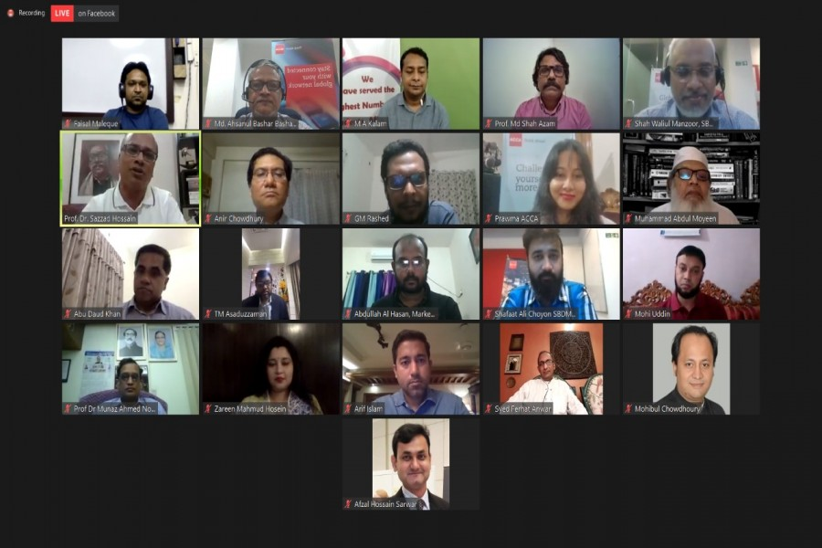 ACCA Bangladesh arranges online discussion on the 'Future of Education'