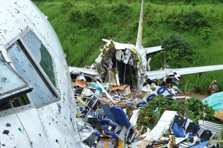 Flight data, cockpit voice recorders recovered from India plane crash site