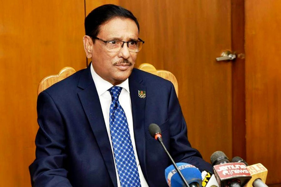 Political identity can't be shield of any wrongdoer: Obaidul Quader
