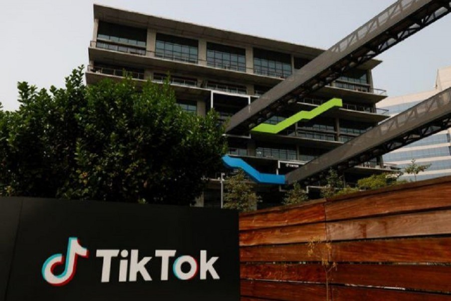 The US head office of TikTok is shown in Culver City, California, US, September 15, 2020 — Reuters
