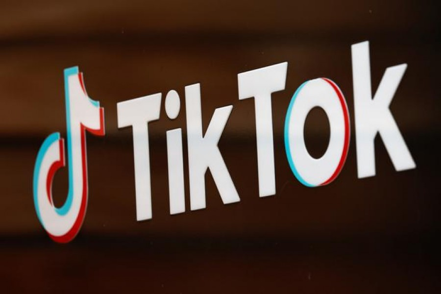 The TikTok logo is pictured outside the company's US head office in Culver City, California, US, September 15, 2020 — Reuters/Files