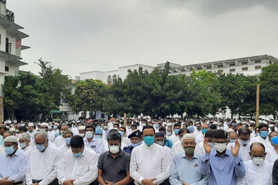 Attorney General Mahbubey Alam laid to rest