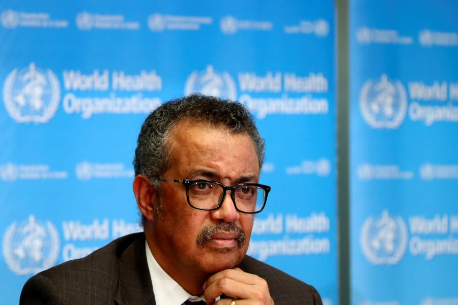 WHO Director-General Tedros Adhanom Ghebreyesus- Reuters file photo