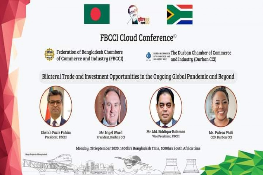FBCCI discusses investment opportunities with South Africa